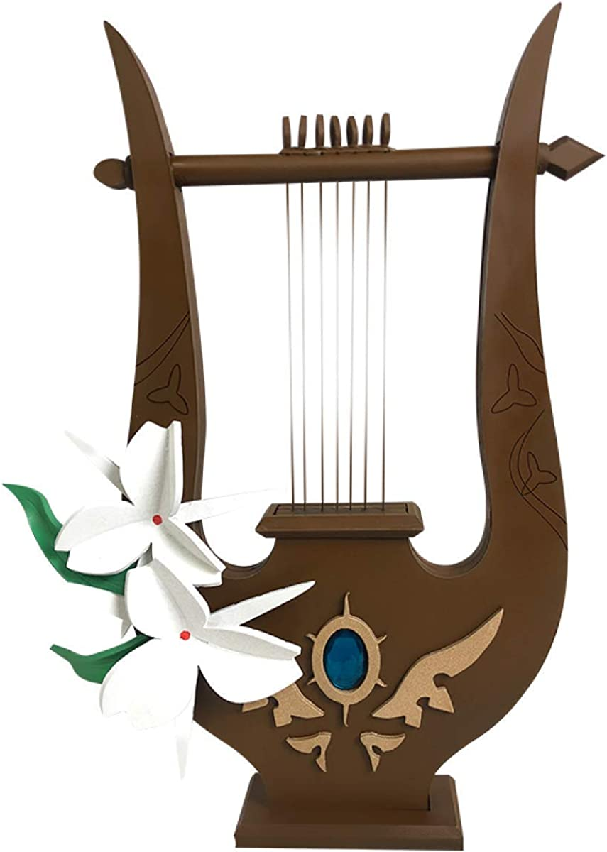 Genshin Sale SALE% Sale special price OFF Impact Wind Archon Venti Wooden Prop Game Cosplay Lyre