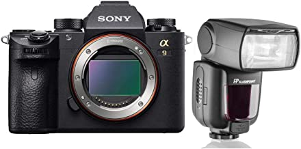 Sony Alpha a9 Mirrorless Camera with Flashpoint Zoom TTL R2 Flash with Integrated R2 Radio Transceiver