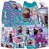 Frozen II 2 EISKÖNIGIN 22 Teile Set Schulranzen RANZEN SCHULTÜTE 85 cm Tornister Schultasche