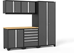 NewAge Products Pro 3.0 Gray 6 Piece Set, Garage Cabinets, 52158