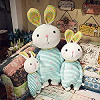 40/55センチメートルかわいいぬいぐるみウサギのおもちゃの人形シャイ顔ぬいぐるみソフト動物枕ギフト遊びのため子供女の子