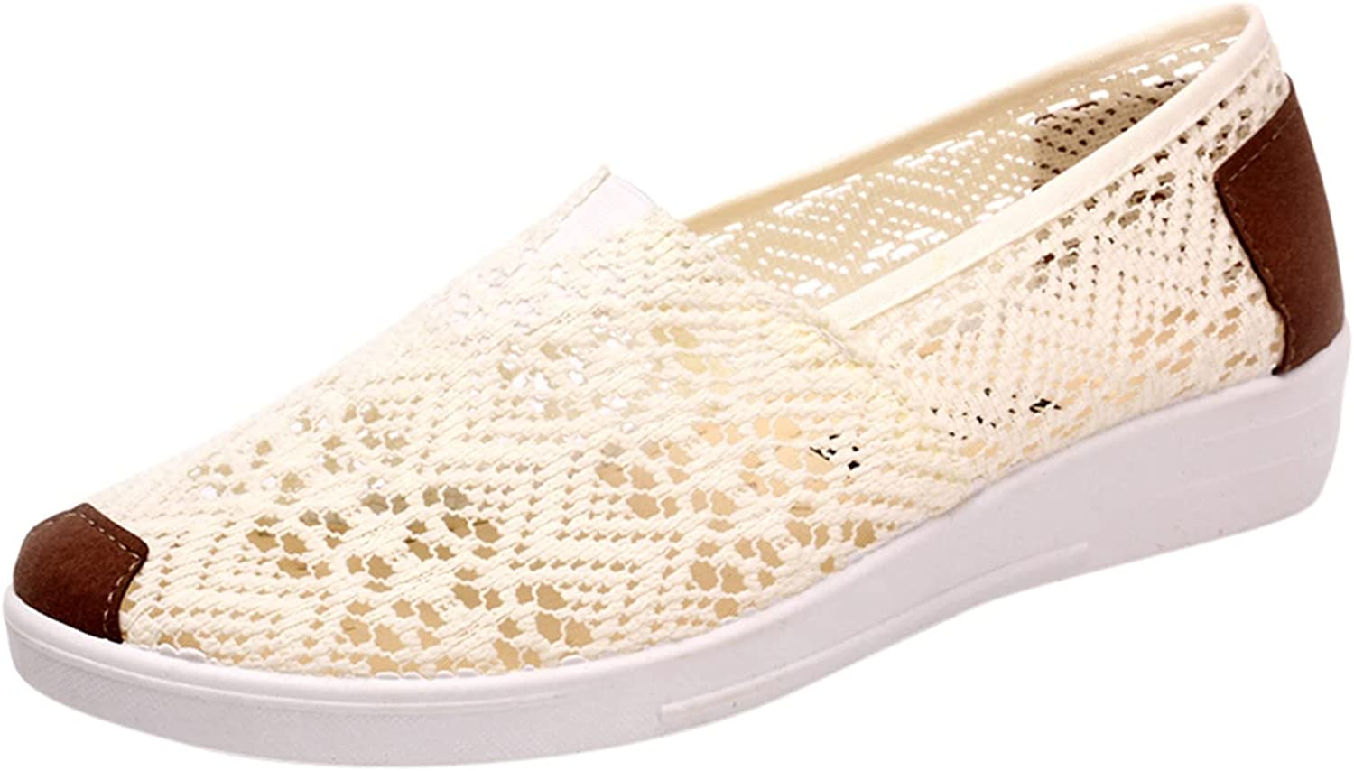BGFIIPAJG Women's Fashion Sneakers Oakland Mall Espadrille Shoes Outlet ☆ Free Shipping Mesh Casual