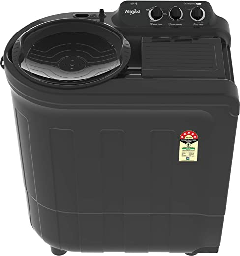 Whirlpool 7.5 Kg 5 Star Semi-Automatic Top Loading Washing Machine (ACE 7.5 SUPREME, Grey Dazzle) 1