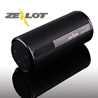 Zealot Wireless Bluetooth Speaker S8 Ourdoor Portable Altavoces Haut ParleurTouchPanel 4000mAhPowerbank HI-FI Stereo Sound Handsfree TF Card