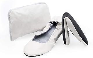 CatMotion Zapatos cómodos plegables en su bolso, Bailarinas para damas, Bombas para después de la fiesta, Zapatos plegable...