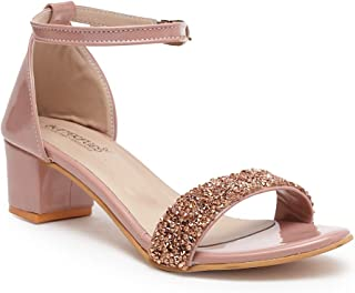 Butterflies Steps Latest Collection, Comfortable Heels Sandal for Women's & Girl's (Pink) (GHS-0056PK)