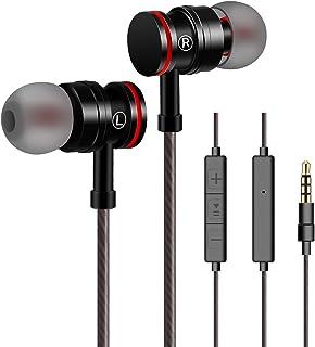 comprar comparacion Auriculares In-Ear con micrófono, Auriculares VddSmm In-Ear Auriculares, estéreo con Aislamiento de Ruido para, Samsung, y...