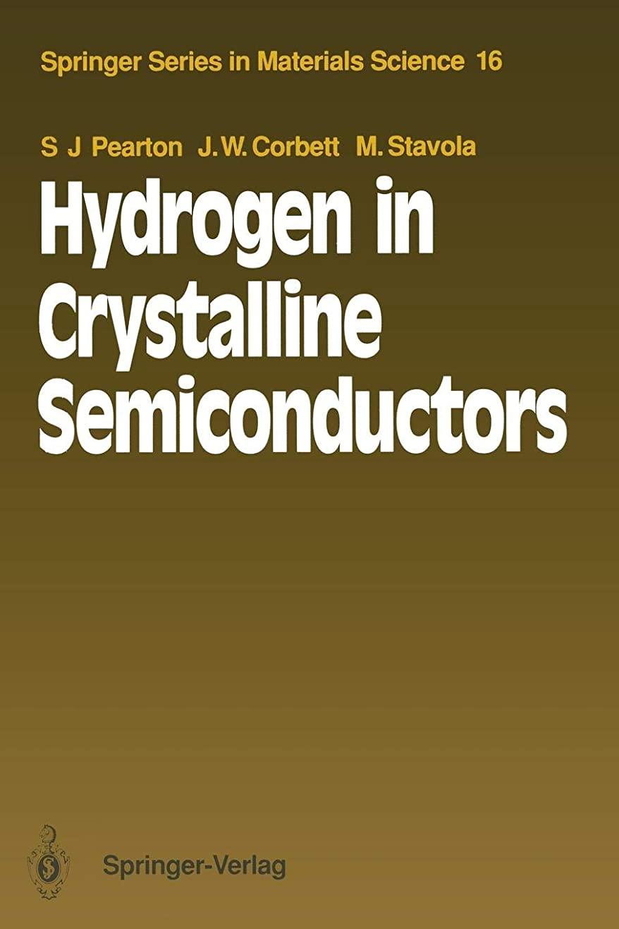 売り手ルビー水Hydrogen in Crystalline Semiconductors (Springer Series in Materials Science)