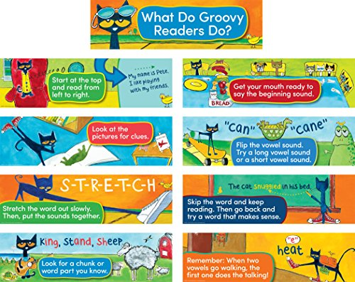 Pete The Cat Reading Strategies Mini Bulletin Board