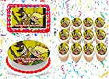 Johnny Test Cake Topper Edible Image Personalized Cupcakes Frosting Sugar Sheet (8' X 11' Cake Topper)