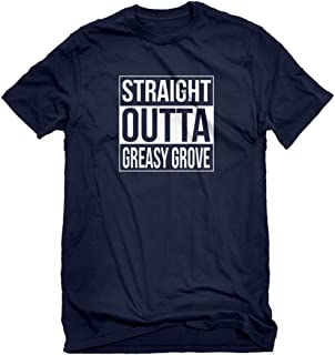Mens Straight Outta Greasy Grove T-Shirt