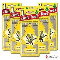 リトルツリー エアフレッシュナー5枚セット 【Vanillaroma バニラロマ】LittleTree/芳香剤/カーフレッシュナー