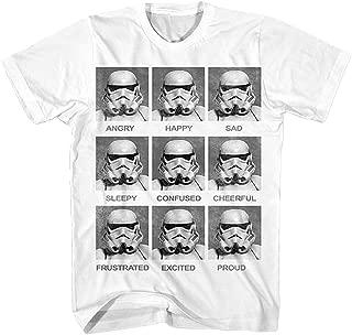 Star Wars Boys' Today I Am Stormtrooper Emotion Costume T-Shirt