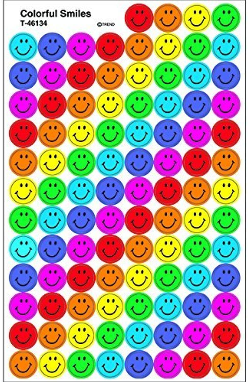 Trend Colourful Smiles School Stickers by TREND ENTERPRISES INC.