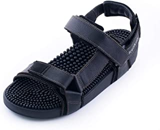 Kenkoh Japanese Massage Sandal Samurai black
