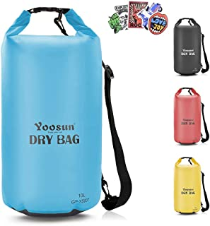 YOOSUN Waterproof Dry Bag, 10L/20L/30L/40L Dry Bag,Adjustable Shoulder Strap Waterproof Floating Dry Gear Bags for Kayaking, Swimming,Rafting, Boating, Hiking, Camping and Fishing
