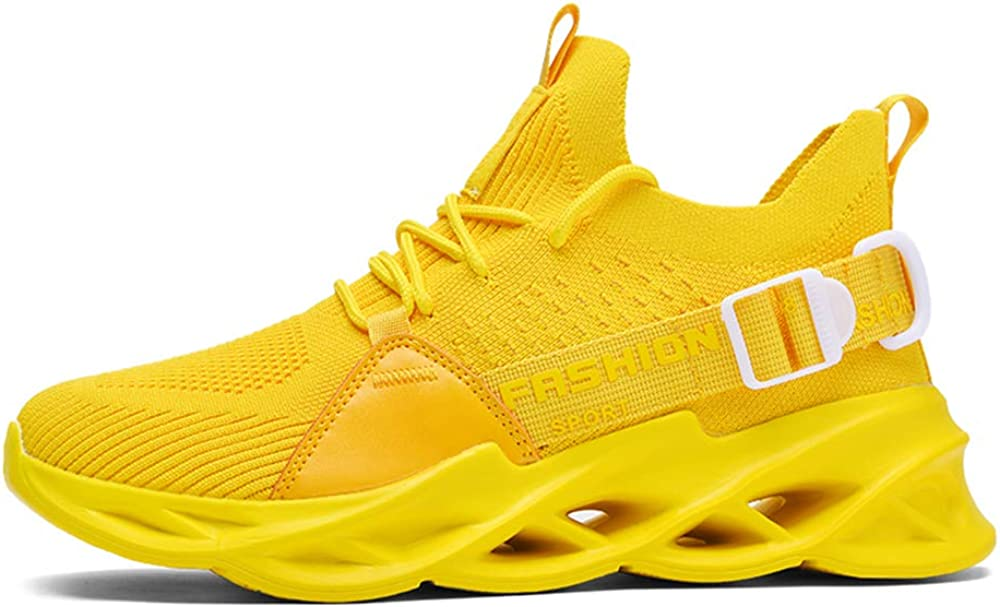 Mens Athletic Breathable Walking Blade Running Tennis Trail Shoes Fashion Sports Outdoor Sneakers