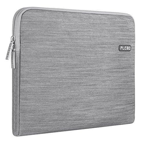 Plemo Hülle Sleeve Tasche aus Denim-Gewebe für 33-33,8 cm (13-13,3 Zoll) Laptop / Notebook Computer / MacBook / MacBook Pro / MacBook Air, Grau