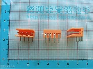 Davitu Hot sale curved needle socket HT3.96 4P plug-type terminal blocks connectors spacing 3.96MM