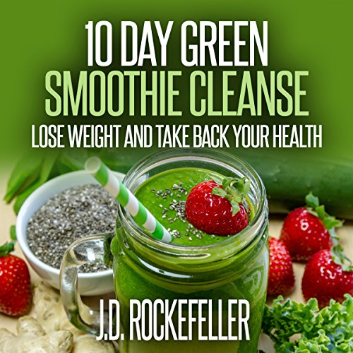 10 Day Green Smoothie Cleanse: Lose Weight and Take Back Your Health     J.D. Rockefeller's Book Club              By:                                                                                                                                 J.D. Rockefeller                               Narrated by:                                                                                                                                 Chelsea Lee Rock                      Length: 51 mins     2 ratings     Overall 3.5