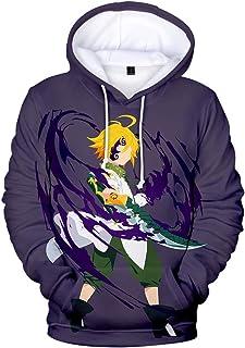 FLYCHEN Uomo Felpa con Cappuccio Il Mio Eroe Accademia 3D Stampato Poster Boku No Hero Academia Anime Cosplay katsukiAnime Personaggio One for all