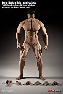1/6th Scale Super Flexible Male Seamless Body-M35(head sculpt is not included)