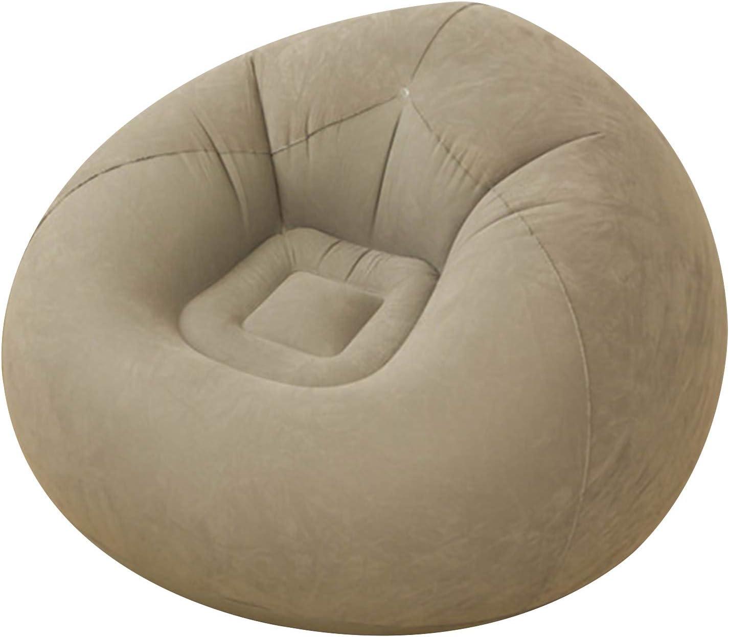 CHENGAI Inflatable Bean Bag Chair Foldable セール特価 新作販売 Flocking