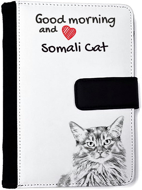 Somali Katze, Außergewöhnliches Notizbuch aus Kunstleder mit Katze B01IZW4A14 | | | Kaufen  fbb021
