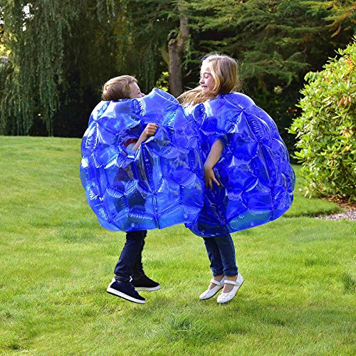 Lets Play Out Neue Kinder aufblasbare Buddy Stoßstange Ball Bounce Sumo Anzüge 2pk
