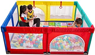 playpen Extra Large Baby With Mat  Toddler Portable Playard Children s Game Fence  200x250x70cm  Color