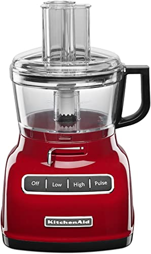 discount KitchenAid KFP0722ER 7-Cup online Food Processor with Exact online sale Slice System - Empire Red online sale