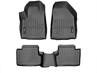 WeatherTech Custom Fit FloorLiner for Jeep Cherokee -1st & 2nd Row (Black)