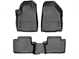 WeatherTech Custom Fit FloorLiner for Jeep Cherokee -1st & 2nd Row (Black)