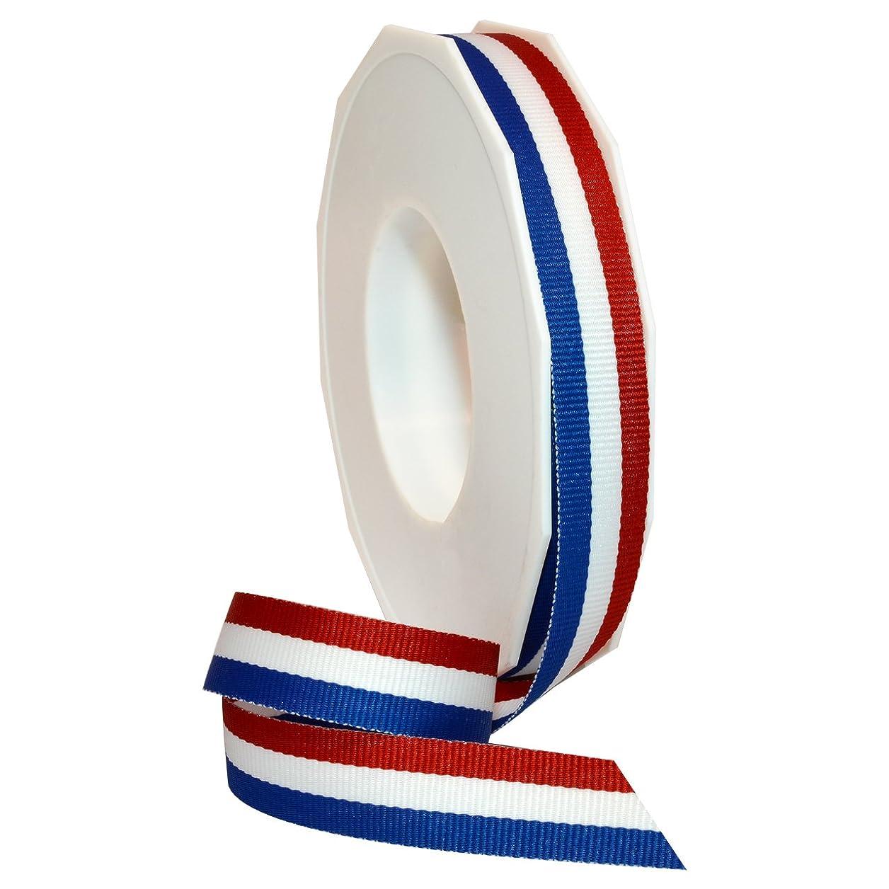 Morex Ribbon Grosgrain Stripes Ribbon, 5/8