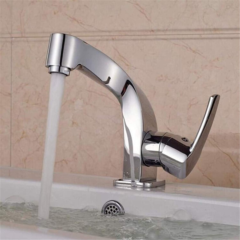 Faucet Blender Vintage Plated Kitchen Faucetfaucets Basin Mixer Single Handle Hole Deck Mounted Washbasin Faucet