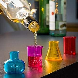 Out of the blue Chemistry - Juego de 4 Vasos de chupito (50