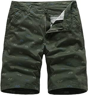 Men's Shorts Summer Casual Cargo Shorts Cotton Male Beach Short Pants