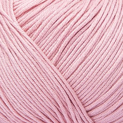 ggh Scarlett - 076 - rosa viejo - Maco algodón para tejer y hacer ganchillo