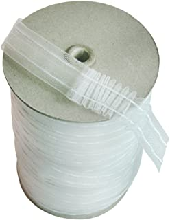 Home Sewing Depot Transulcent Mini Pleat Tape - 1 Inch Wide x 6 Yd