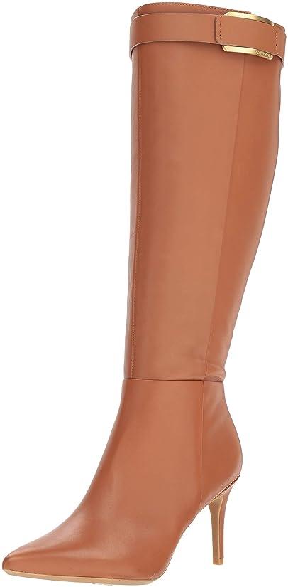 層キャメル梨[Calvin Klein] レディース US サイズ: 6.5 M US カラー: ブラウン