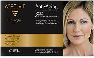 ASPOLVIT. Collagen Complemento alimenticio con colágeno. 15 ml (20 monodosis)