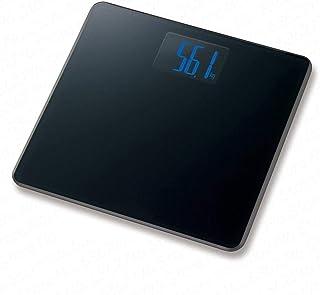 Báscula de grasa corporal Escala de grasa corporal Suelo Científico Inteligente Electrónica LED Digital Peso Baño Equilibrio Bluetooth APP Android o iOS Hd-366Negro