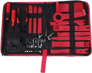 Vosarea Kit de ferramentas de remoção de painel de carro, clipe removedor de painel de porta, acessórios de moldagem de rá...