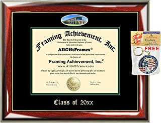 Cal Poly San Luis Obispo Custom Diploma Frames Embossed Best Graduation Degree Frame Double Campus Fisheye California State Polytechnic University Degree Holder Graduate Gift