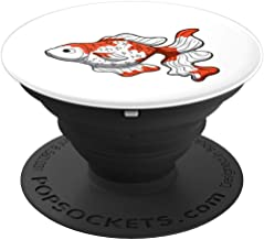 Sarasa Goldfish Popsocket Comet Veiltail Watonai Gift - PopSockets Grip and Stand for Phones and Tablets