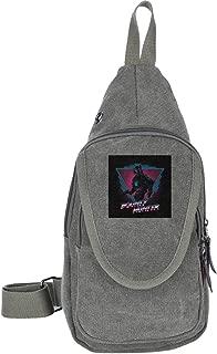 Judge Dredd Bounty Hunter Traveling Chest Bags For Men&Women Multipurpose Casual Daypack Hiking Shoulder Bag