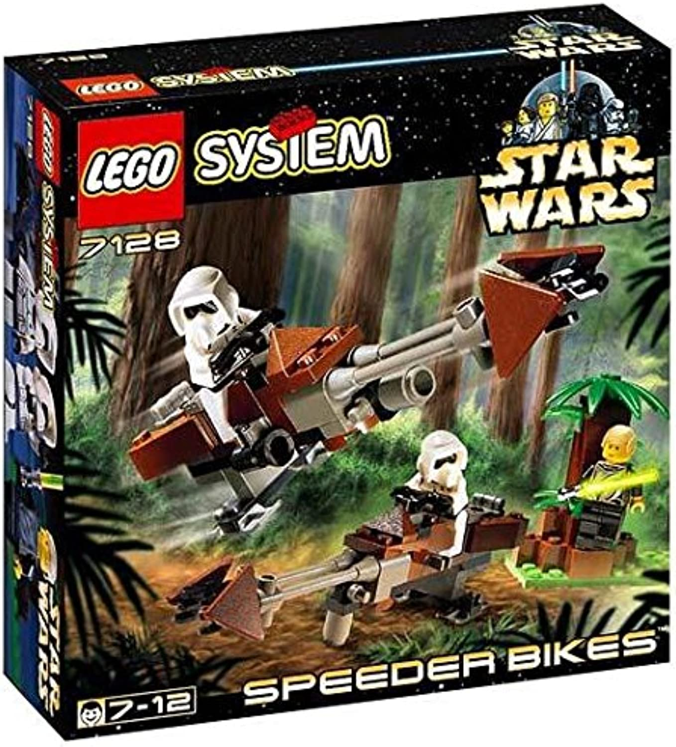 LEGO Star Wars  Speeder Bikes (7128)