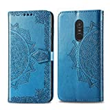 Bear Village Hülle für Xiaomi Redmi Note 4X, PU Lederhülle Handyhülle für Xiaomi Redmi Note 4X, Brieftasche Kratzfestes Magnet Handytasche mit Kartenfach, Blau