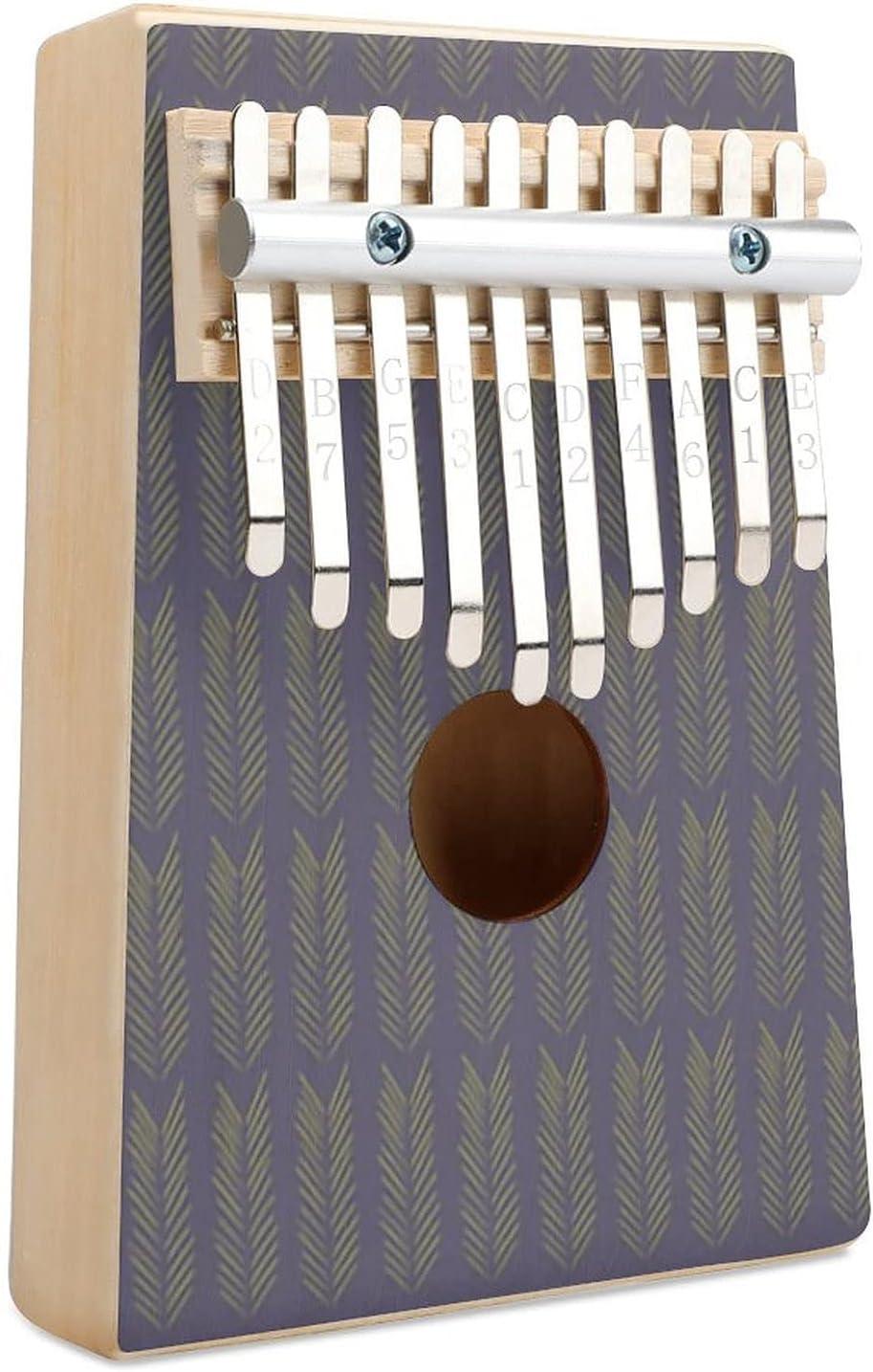 Pattern 3 Kalimba Thumb Piano Finger Ins 10 Key Special price Rare Musical