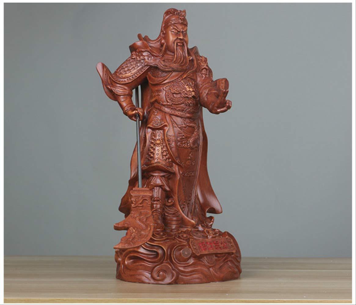 LKXZYX Boda Decoracion Buda budas Figuras de Grandes Salon candelabros Jardin Exterior Guan Gong Buda Estatuas Wu Caishen Decoraciones de Oficina: Amazon.es: Hogar